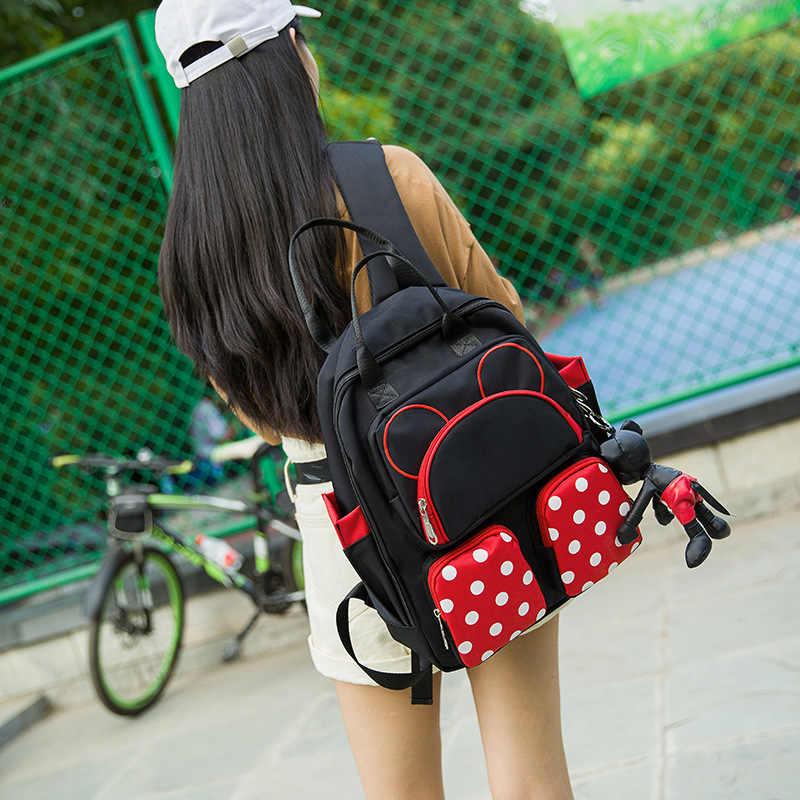Милый Микки Школьный Рюкзак основной Детская сумка мультфильм школьные сумки для мальчиков и девочек Минни путешествия рюкзак мешок dos enfant mochila