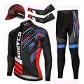 Mieyco Professionale Ciclismo Uniforme di Autunno della Molla Pantaloni di Felpa Set Mountain Bike Attrezzature Ciclismo motocross Abbigliamento