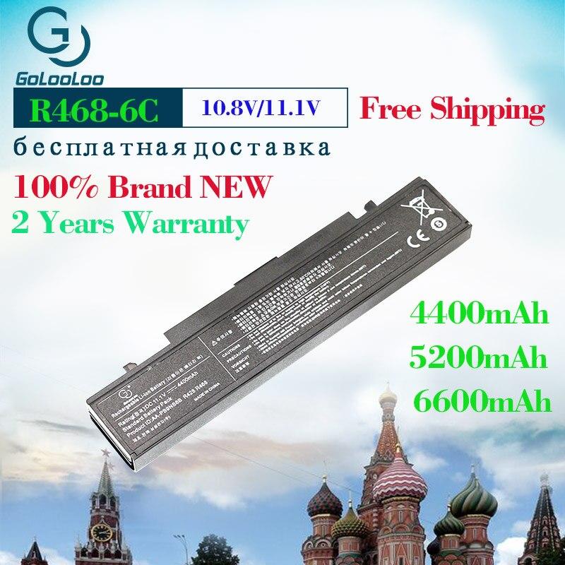 Golooloo 11.1v Bateria Do Portátil Para Samsung aa PB9NC6B AA-PB9NC6B AA-PB9NS6B PB9NC6B R580 R540 R519 RV508 R528 R505 R428 np300v5a