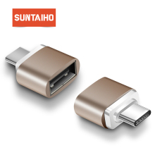Suntaiho 2 Pack Type-C to USB Adapter OTG Converter USB 2.0 Convert to Type C USB-C Port Adapter Charging Sync for MacBook Pixel