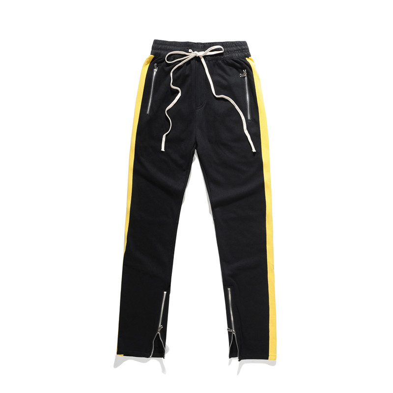 Mann Si Tun Fitness Lange Hosen Männer Casual Jogginghose Jogger Hosen 2017 Hip Hop Einbau Böden Reißverschluss Streetwear Hosen