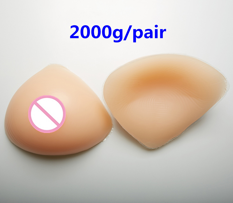 2000g/pair Large Silicone Breast Mastectomy Silicone Fake Breast Forms Transgender Fake Boobs False Breasts realistic silicone breast forms prosthesis mastectomy for surgery woman false fake boobs