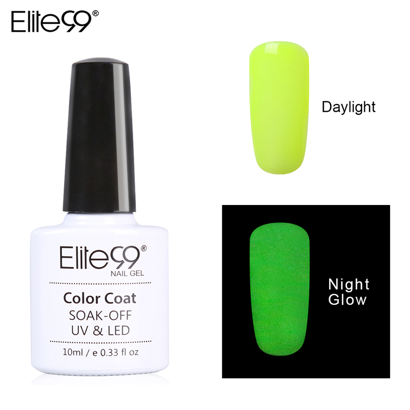 Candy Color Nail Polish: Elite99 10ML Candy Colors Nail Polish Glow In The Dark