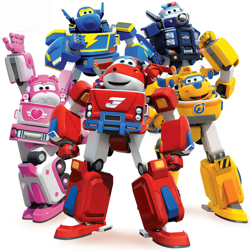 Action Figure Toys Super Wings Big Deformation Armor Super wings Rescue Robot Transformation Fire Engines Toys wei jiang transformation robots deformation boy toys fire and war alloy rescue crane motor drivers truck combiners autobots