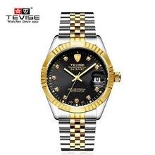 Marca de lujo de Los Hombres Relojes Dial Grande Reloj Mecánico Reloj Hombre Reloj Reloj masculino del relogio relojes Luminosos Hombres Diseñador