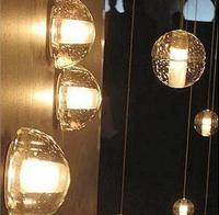 Clear Crystal Wall Lamp For Home Indoor Balcony Simple Creative Fashion Wall Lamps Modern Glass Ball Lights LED