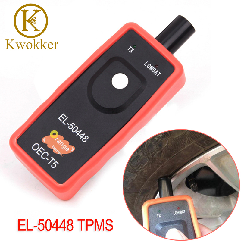 New EL-50448 TPMS EL50448 Auto Tire Pressure Tester Monitor Sensor EL 50448 OEC-T5 Automotive TPMS Activation Tool For SPX G.M ручной фонарик oec d002 led