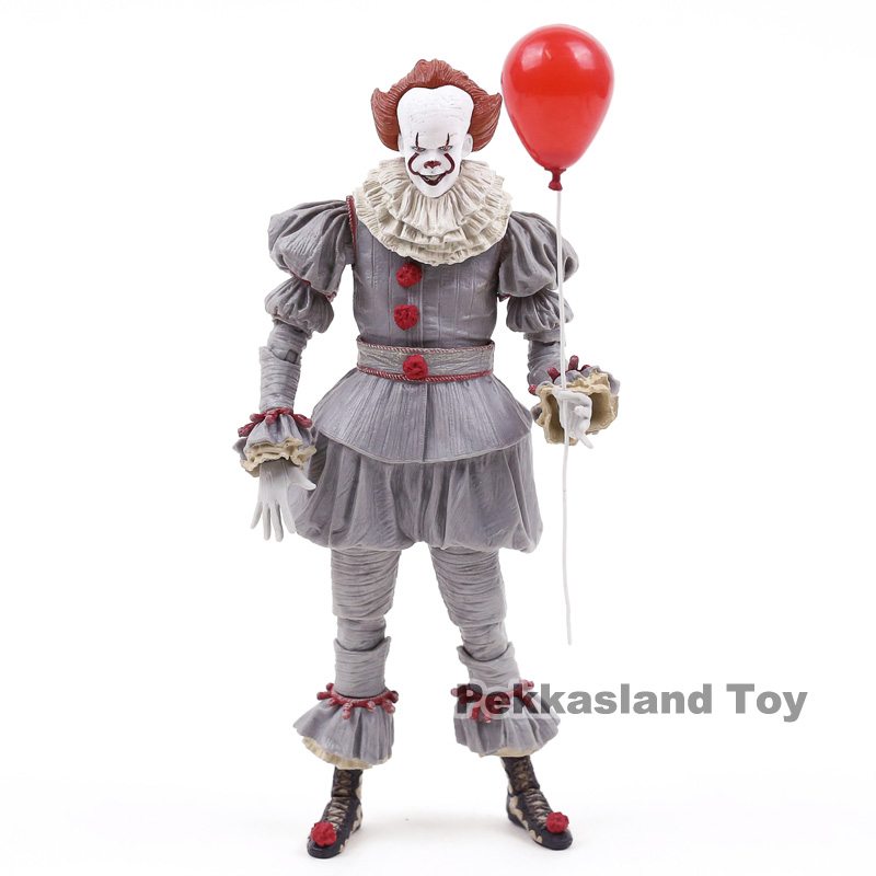 Image 4 - NECA Stephen Kings It Pennywise PVC Action Figure Collectible Model ToyAction & Toy Figures   -