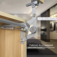 Translational parallel hardware door vertically upward Cabinet fittings rod elevator door lift door