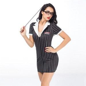 Image 5 - Women Porno Sexy Costumes Teacher Uniform Cosplay Lingerie Hot Erotic Uniform Sexy Babydoll Lingerie Erotic Cosplay Underwear