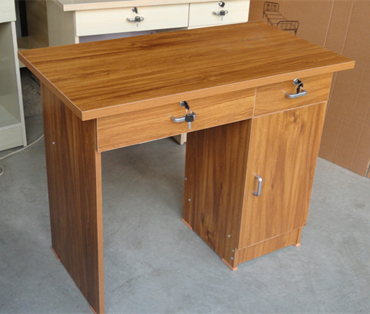 Single Study Desk Minimalist Home Desktop Computer With Drawers Writing Desk Table