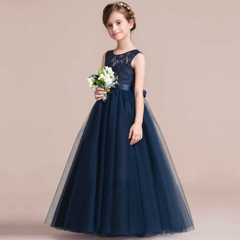 a9fb78ec63e83 Formal dresses for teens 4 To 10 11 12 13 14 Years Old Kids Long ...