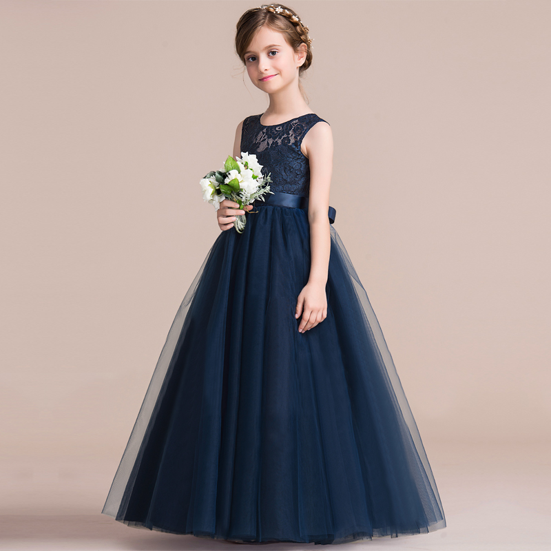 Summer Girls Dress Lace Princess Dress Tutu Party Wedding Dress Costume Kids Dresses For Girls Children Clothing 10 12 14 Years