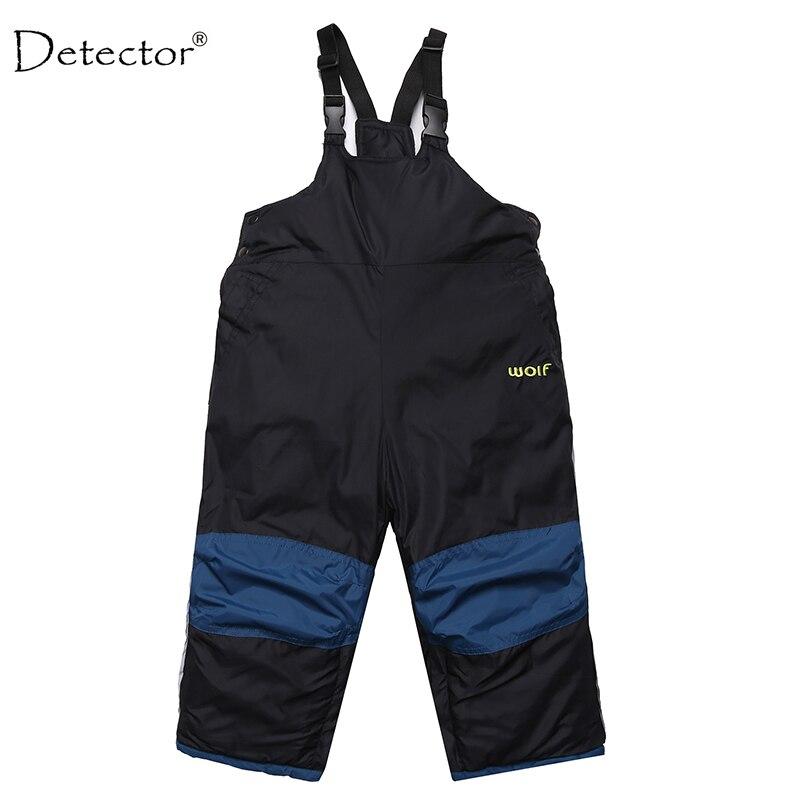 Prix pour Vêtements pour enfants petits garçons filles pantalons de ski enfants d'hiver salopette pantalon imperméable enfant enfants vêtements 1-4 année