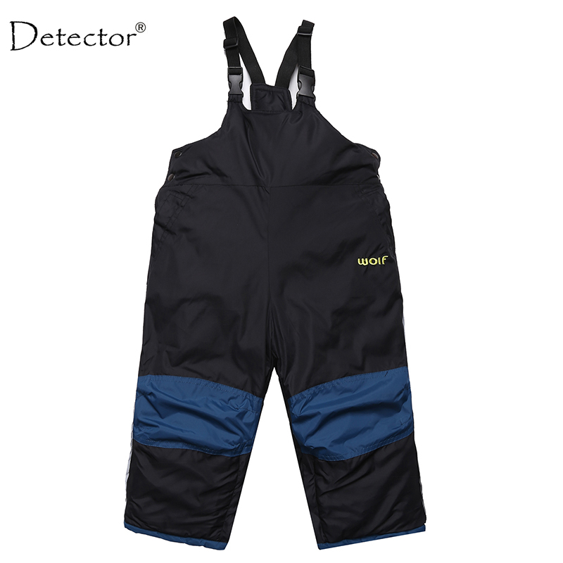 children clothing  little boys girls ski pants kids winter bib overalls trousers waterproof toddler kids clothing 1-4 year