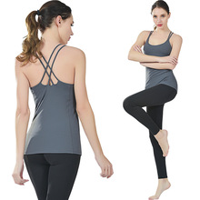 Professional Women's Sports Vest Quick-drying Fitness Tank Top Active Workout Yoga Clothes T-shirt Running Gym Jogging Vest недорго, оригинальная цена