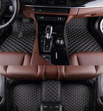 AA Ajuste Personalizado Esteras Del Piso Del Coche Para Volvo C30 S40 S60L V60 V40 XC60 XC90 Car-Styling Pu de Cuero Alfombra Del Piso Liner