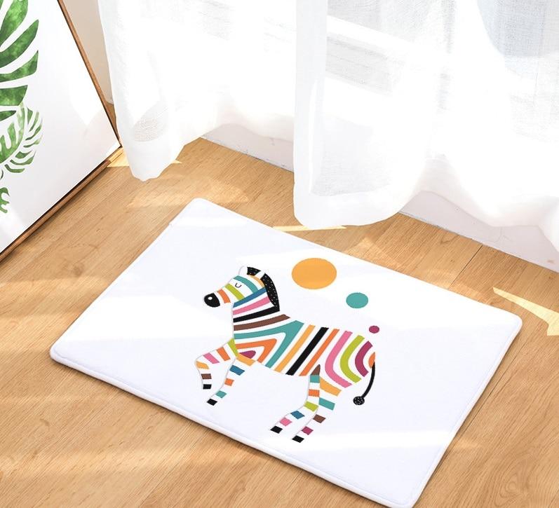 Image 4 - CAMMITEVER Средний век военный конь креативный Европейский тип ковер коврик для прихожей Противоскользящий коврик для ванной комнаты впитывающий воду кухонный коврик-in Коврик from Дом и животные on AliExpress - 11.11_Double 11_Singles' Day