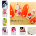 Nail Art Water Decals Mini Cute Flower DIY Tips Decorations Sheet on Fingers Water Transfer Nail Art Tattoo 8257839