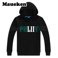 Men Hoodies 2017 2018 Philadelphia Philly phliiy LII World Champions Foles Sweatshirts Thick for fans Winter W18013101
