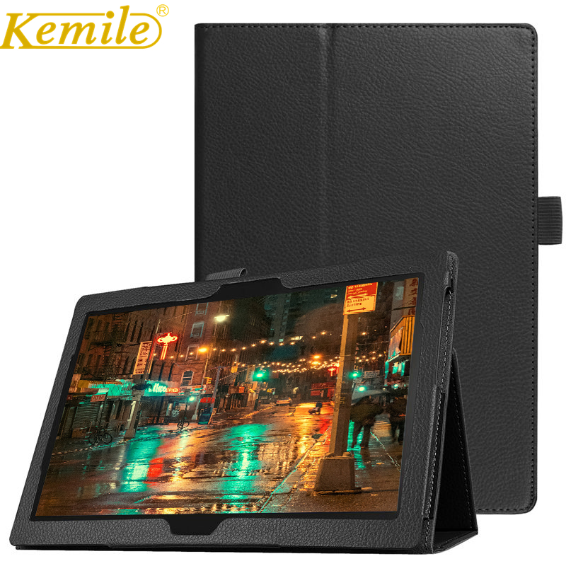 Kemile Case For Lenovo Tab 4 10 TB-X304L TB-X304F TB-X304N 10.1 Tablet Slim Smart Leather Case For lenovo Tab4 10 X304F Cover magnetic stand smart pu leather case for lenovo tab 4 10 tb x304f x304n x304l 10 1 tablet funda cover free screen protector pen