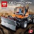 2017 nueva serie 2088 unids técnica mecánica cars unni monje modelo bloques de construcción de ladrillo compatible legod lepins lele 8110 juguete regalo