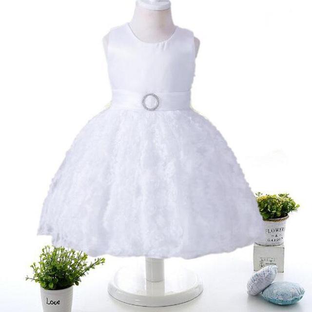 Elegante Blume Baby Mädchen Kleid 2017 Neue Ankunft Neugeborenes ...