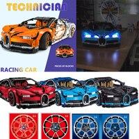 2018 New technician technics technology Bugattis chiron building block super sports cars model brics 42083 toys collection