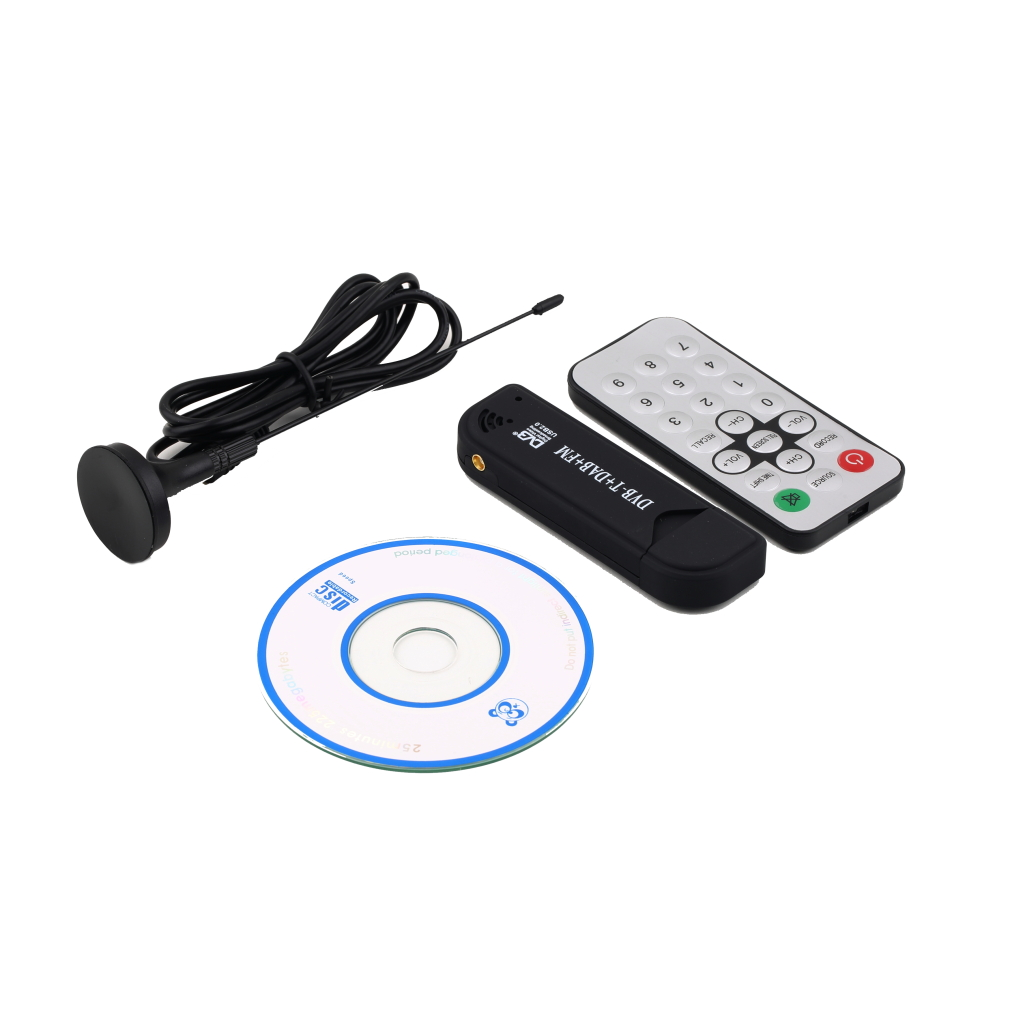 Super Digital RTL2832U+R820T TV Tuner Receiver With Antenna For PC For Laptop Support SDR Hot New Arrival