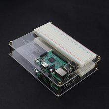 2 Layers Acrylic Mount Plate Raspberry pi DIY Prototype Experimental Platform for Raspberry pi 3 &Raspberry Pi 2 Model B / B+