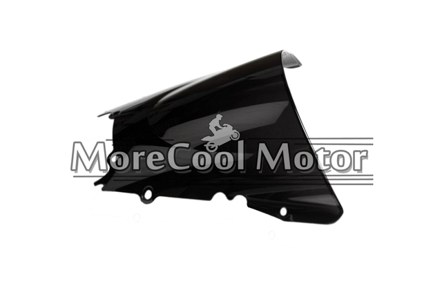 Motorcycle Double Bubble Windscreen For Yamaha YZF R6  1998 1999 2000 2001 2002 Injection Scooter Windshield