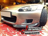FOR CARBON FIBER 00 03 S2000 AP1 BODY KIT FRONT BUMPER LIP CANARDS SPLITTERS