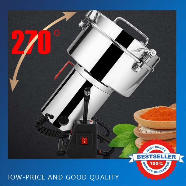 4500G 220V 50HZ Swing Type Mills Electric Herbal Powder Mill Dry Food Grinder Machine