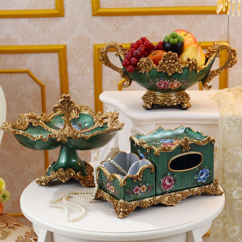 paper towel box living room restaurant retro paper suction box living room tea table remote control receiver box