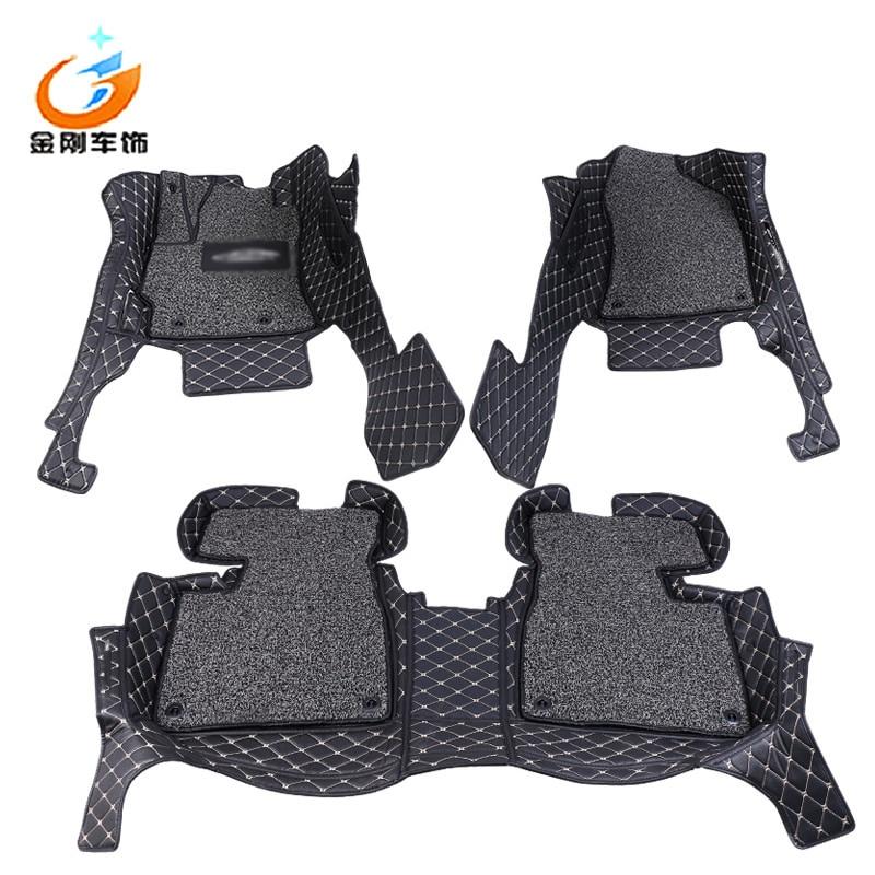 Car styling Custom car floor mats fit for Corolla Levin Hybrid 2014-2017 floor mat pad car accessories custom car floor mats for mazda mx5 2 8 cx5 mazda3 cx 5 turnkey car accessorie car styling floor mat