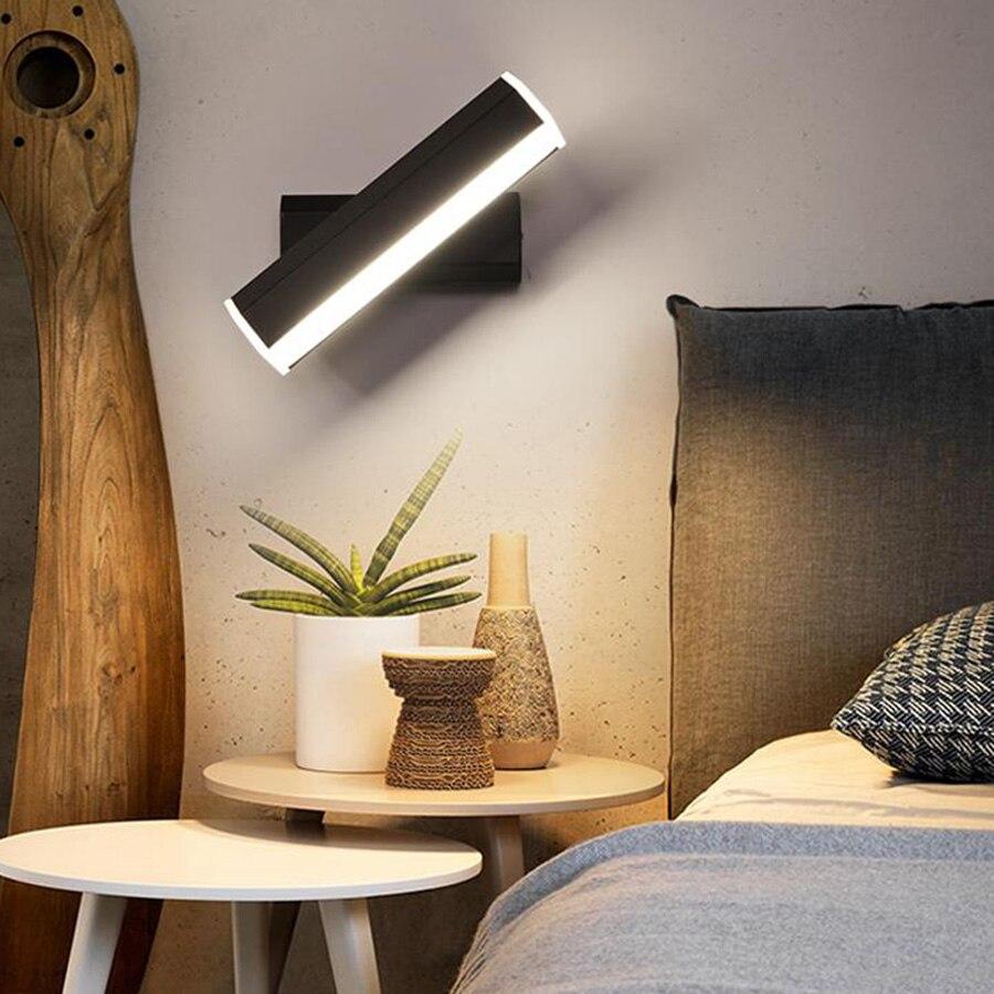 Thrisdar Drehbare Nordic Minimalist Led Wand Lampen 20 Cm 35 Cm Kreative Persönlichkeit Schlafzimmer Nacht Studie Lesen Wand Licht SchöNer Auftritt Wandleuchten
