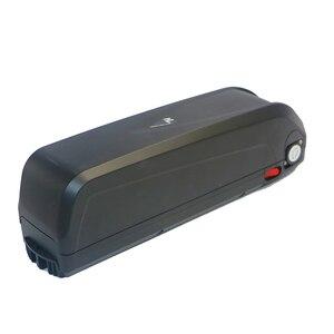Image 5 - E bike caja de batería de 48V + hojas de níquel, caja de almacenamiento, tubo de bajada de litio, batería de bicicleta eléctrica, funda de 48V con soporte 18650 gratis