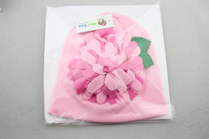 0f48bda754f Retail Christmas new arrival Flowers by hand autumn winter new born caps  beanies hat boys girls hat girl cap-in Hats   Caps from Mother   Kids on ...