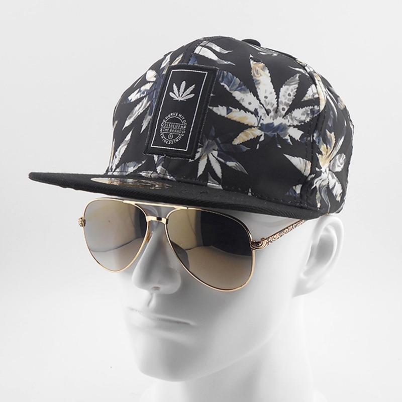 Black and white flag HANRUI 3D Polyester Casual Hip Hop Hat Unisex Baseball Snapback Cap Tennis Sports