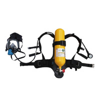 fire rescue breathing apparatus SCBA steel cylinder