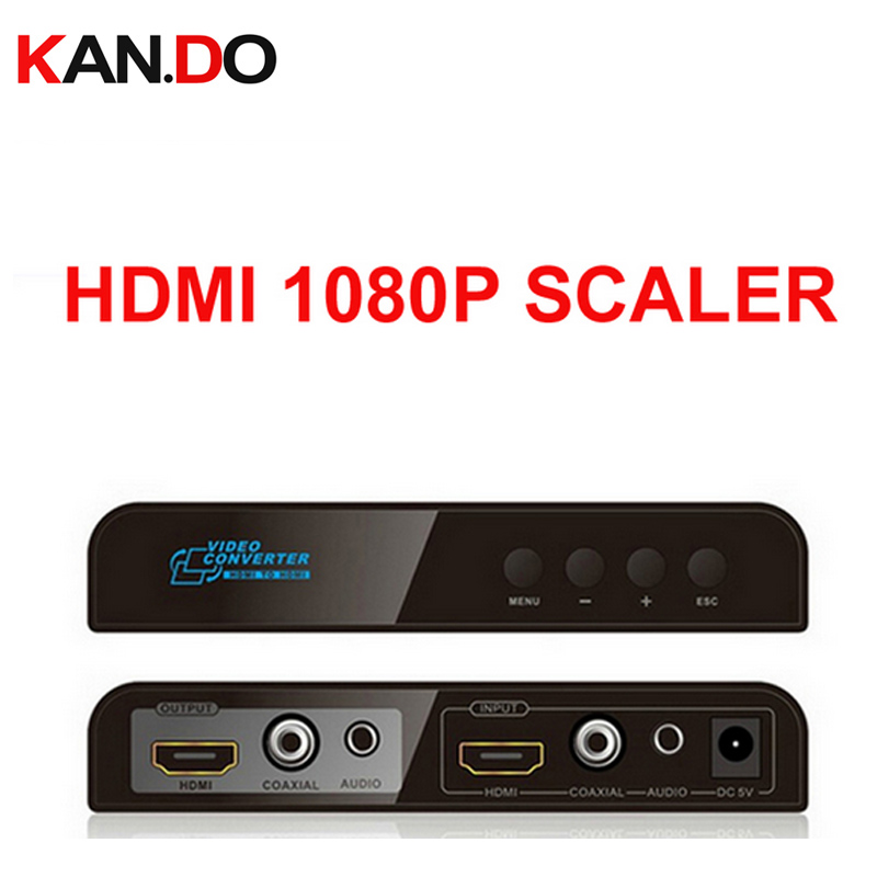 323 Coaxial HDMI To HDMI Scaler W/ Down&up Scaling Funtion Coaxia&stereo Audio Out HDMI Audio HDMI Audio Mixture Adapter