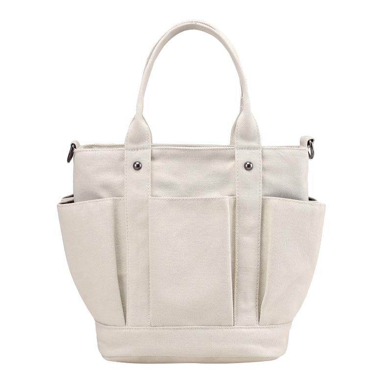 Vintage Womens Tote Bags Shoulder Strap Casual Handbags Ladies Shopping Bags Crossbody Zipper Large Capacity Sac Bolsa Feminina