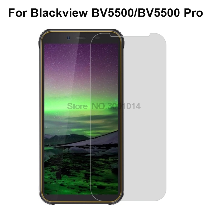 Tempered Glass For <font><b>Blackview</b></font> <font><b>BV5500</b></font> <font><b>Pro</b></font> Screen Protector Explosion-proof Mobile Phone Film For <font><b>Blackview</b></font> <font><b>BV5500</b></font> 5.5