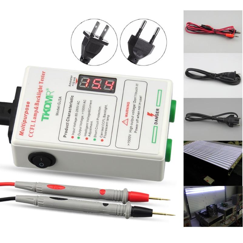 TKDMR igas suuruses CCFL-lampide tester LCD-teleri sülearvuti taustvalgustuse tester väljundvoolu ja -pinge arukas reguleerimine Tasuta saatmine