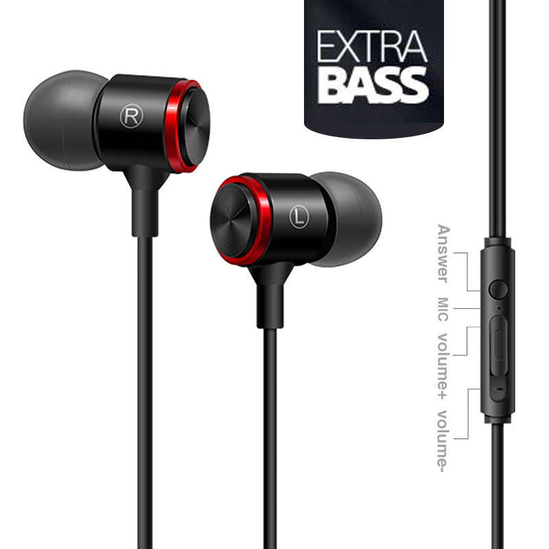 Wired Metal Noise Cancelling Headphones Smart Phone Earphone Music Auriculares Mp3 Player Headset Bass Som With Microphone Hot 100% original new printer print head for epson r1390 r1400 r1430 1390 1400 1430 1500w 1500 printhead on sale