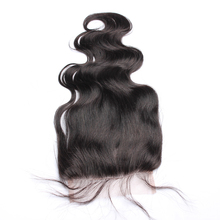 Body Wave 5x5 Lace Closure Brazilian Remy Hair Baby Hair Bleached Knots 100 Human Hair Honey