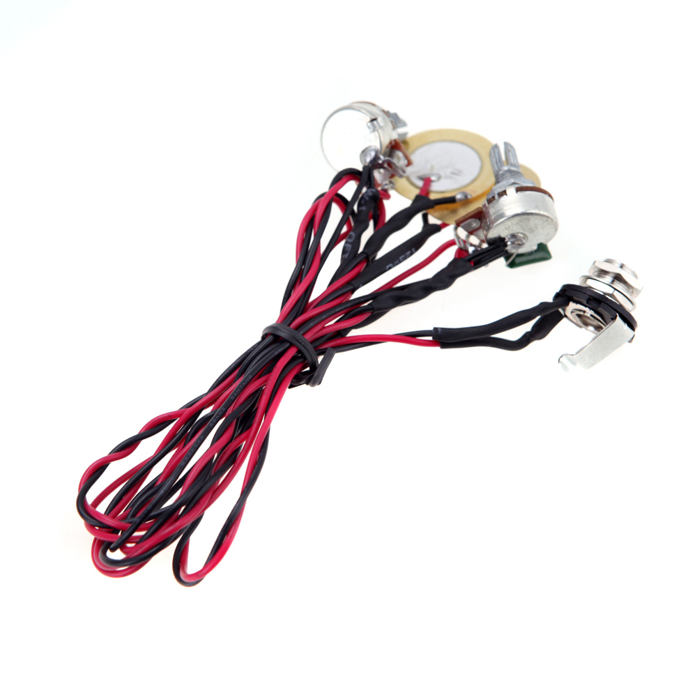 High Quality Dual Piezo Pickup Coil Acoustic Electric Guitar Pickup Parts With Volume And Tone Control ...