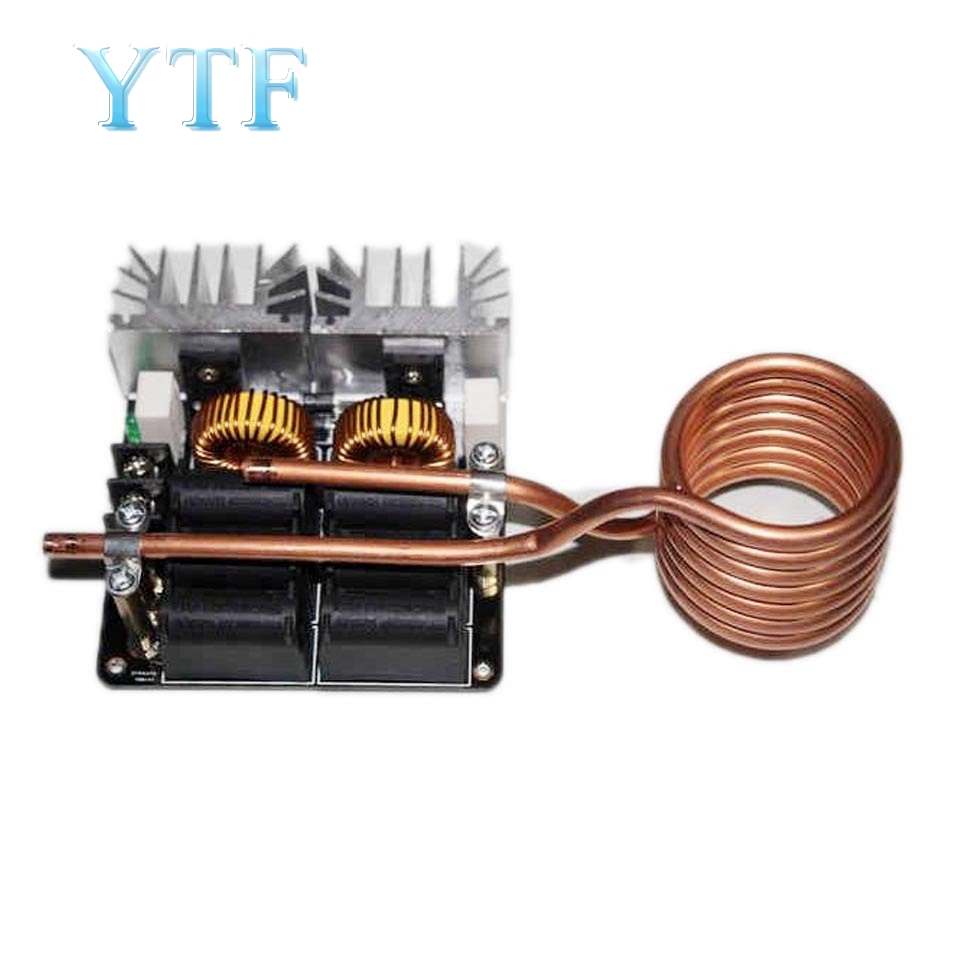1kw Low ZVS 12-48V 20A 1000W Low Voltage Induction Heating Board High Frequency Induction Heating Machine Module