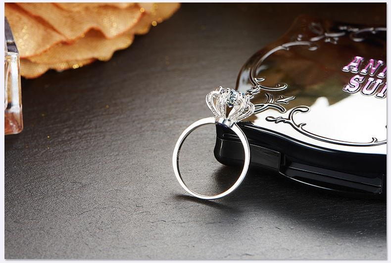 Jewellwang Obrączki Dla Kobiety Oryginalny Design 100ct Carat 18 K