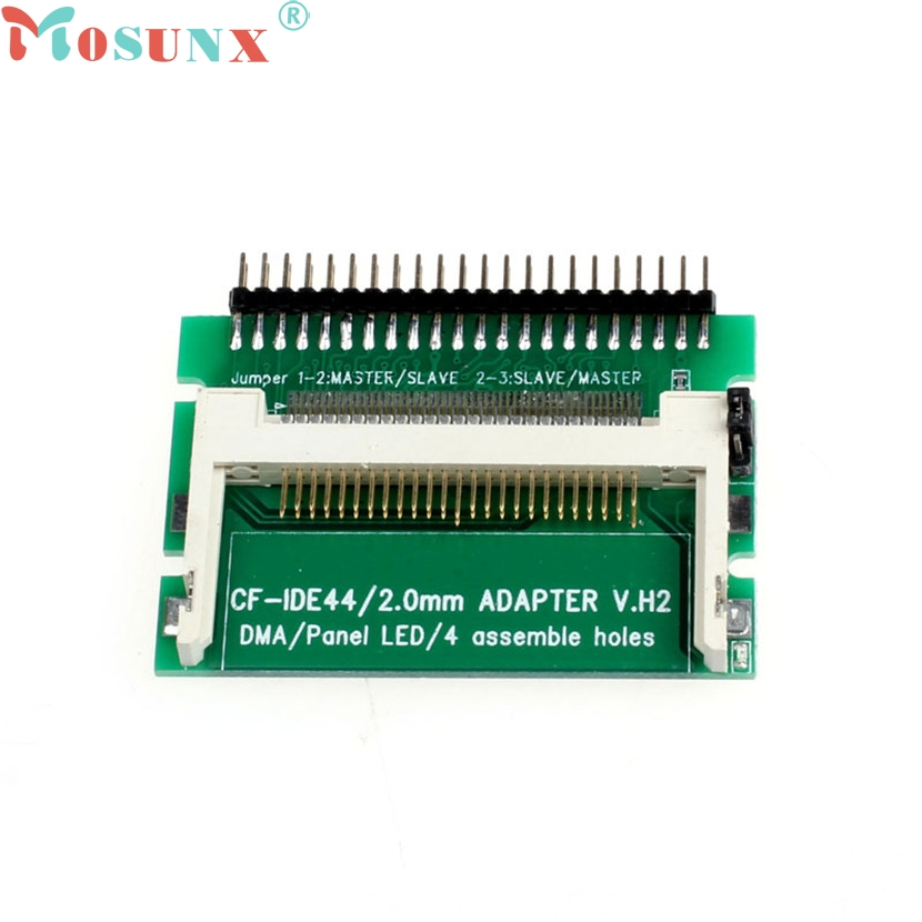 Mosunx Mecall CF to IDE CF To 44 Pin Male IDE Adapter PCB Converter As 2.5 IHDD Drive For Laptop new style 44 pin male ide to sd card adapter